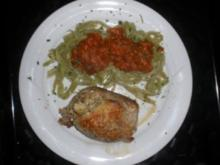 Fleischröllchen mit Pesto - Rezept