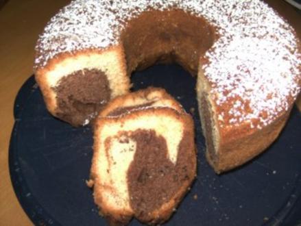 Backen: Marmorkuchen - Rezept