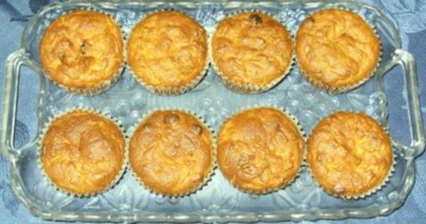 Kleingebäck - Möhren-Amarettini-Muffins - Rezept