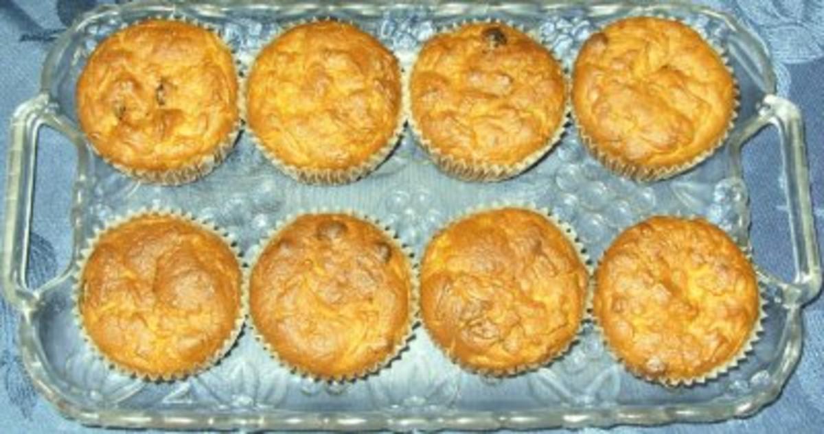 Kleingebäck - Möhren-Amarettini-Muffins - Rezept Eingereicht von anfaengerintotal