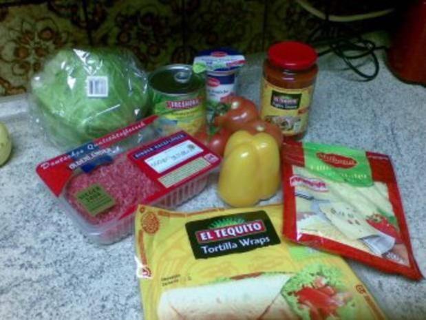 Mexican Tortilla Wraps - Rezept - Bild Nr. 2