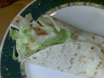 Mexican Tortilla Wraps - Rezept