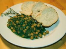 Spinat-Kichererbsen-Pfanne - Rezept