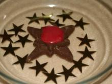 Schoko-Sterne - Rezept