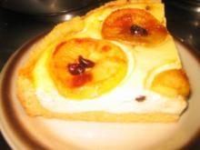 Backwaren: Karamellisierter Apfel-Käsekuchen! - Rezept