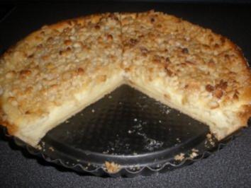 Käse-Toffee-Tarte  mit Macadamia - Rezept