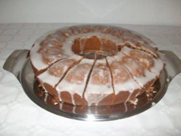 Rezept: Glühweinkuchen