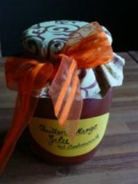 Quitten-Mango-Gelee mit Borbonvanille - Rezept