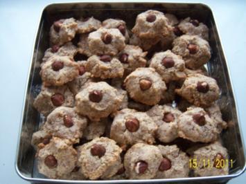 Nußmakronen - Rezept