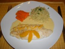 Fisch - Pangasius in Orangensoße - Rezept