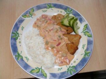 Gynie,s Schnitzel Paprika Sahnesauce - Rezept