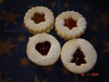 Rezept: Weihnachtsplätzchen :  Hildabrötchen