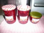 Marmelade -  Kirsche-Himbeer - Rezept