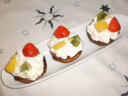 Käsekuchen-Muffins - Rezept