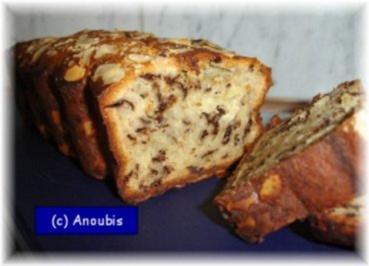 Kuchen/Gebäck - Bananen-Schoko-Kuchen - Rezept