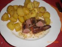 Lammfilet mit Rosmarinkartoffel - Rezept