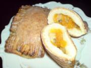 Mandarinen-Taschen mit Zuckerguss - Rezept