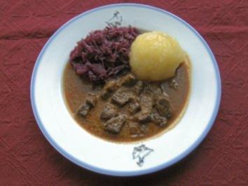 Rezept: Schwarzbiergulasch