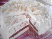 Himbeer-Spekulatius-Torte - Rezept