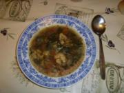 Romanesco-Blumenkohl-Suppe mit Pak Choi Senfkohl - Rezept