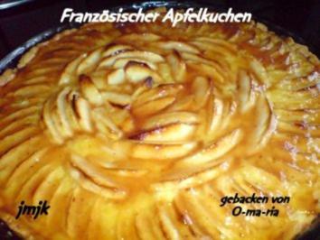 Rezept: Französischer Apfelkuchen