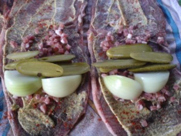Rinderroulade mit Rosenkohl-Gemüse - Rezept - Bild Nr. 7