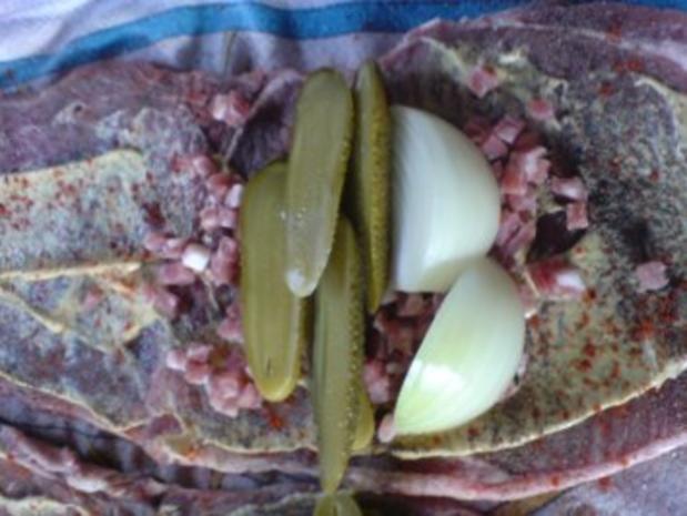 Rinderroulade mit Rosenkohl-Gemüse - Rezept - Bild Nr. 8