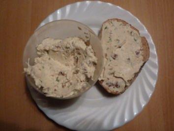 Brotaufstrich:  Tomate-Rucola Käse - Rezept