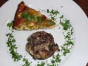 Roquefort-Birnen-Tarte - Rezept