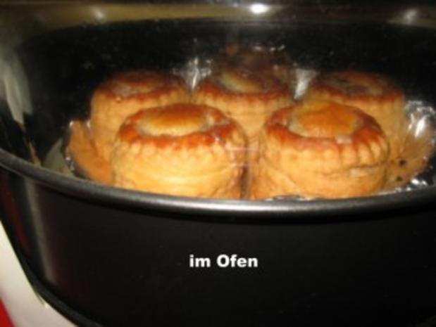 feine Pastetchen mit Gänsebrust u. Champignons - Rezept - Bild Nr. 8