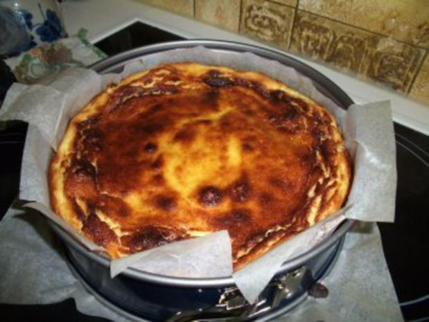 Käsekuchen ohne Boden (Quarktorte) - Rezept - Bild Nr. 2