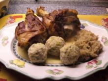 knusprige Schweinshaxe - Rezept