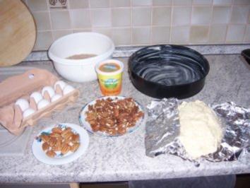 Pecan und Mandeln Pie - Rezept