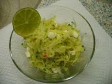 Kohlrabisalat - Rezept