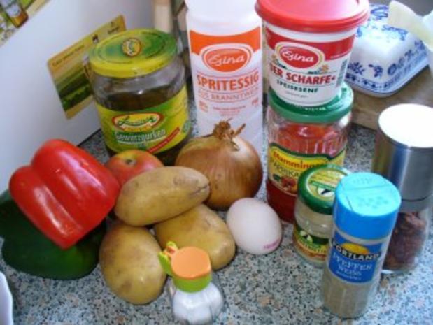 Bunter Kartoffelsalat - Rezept - Bild Nr. 2