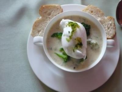 Broccoli – Blumenkohl – Eischnee - Creme – Süppchen - Rezept