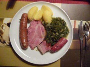 Rezept: Bremer Kohl und Pinkel
