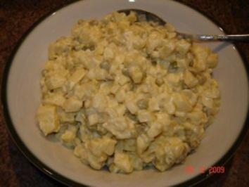 Rezept: Salate : Russischer Kartoffelsalat