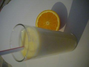 Buttermilch- Orangen- Drink - Rezept