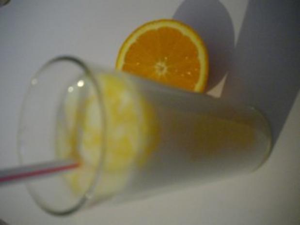 Buttermilch- Orangen- Drink - Rezept - Bild Nr. 4