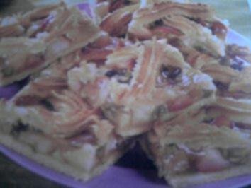 Winterapfel-Blechkuchen - Rezept