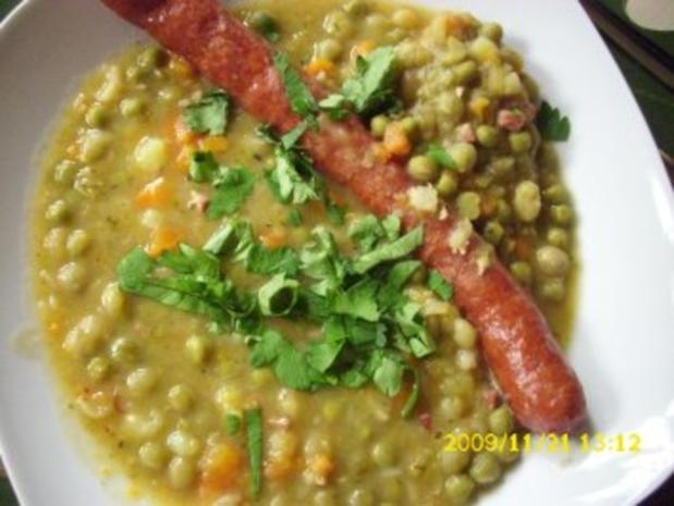Suppe: Erbseneintopf - Rezept - Bild Nr. 2