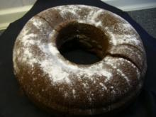 Kuchen : fast schwarzer Schoko-Kuchen - Rezept
