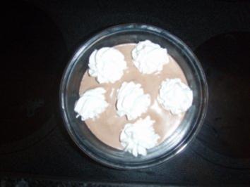 Schoggi - Baileys - Mousse mit Zimt - Rezept