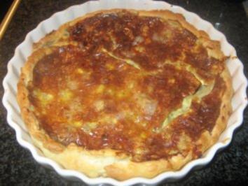 Birnen-Gorgonzola-Quiche - Rezept