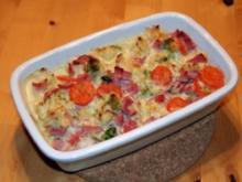 Blumenkohl-Brokkoli-Gemüse - Rezept