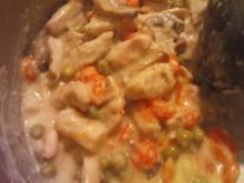 Hühnerfrikasse - Rezept