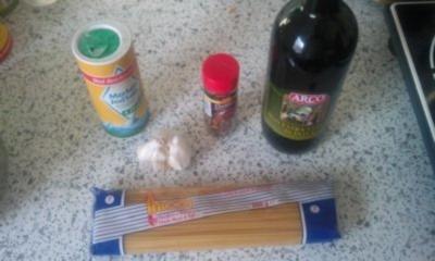 Emir's Spaghetti Aglio e Olio - Rezept