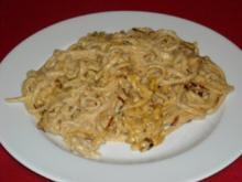 """""""Käse""""-Spätzle ohne Käse - die laktosefreie Soja-Variante - Rezept"""