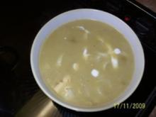 Chicorée-Suppe - Rezept